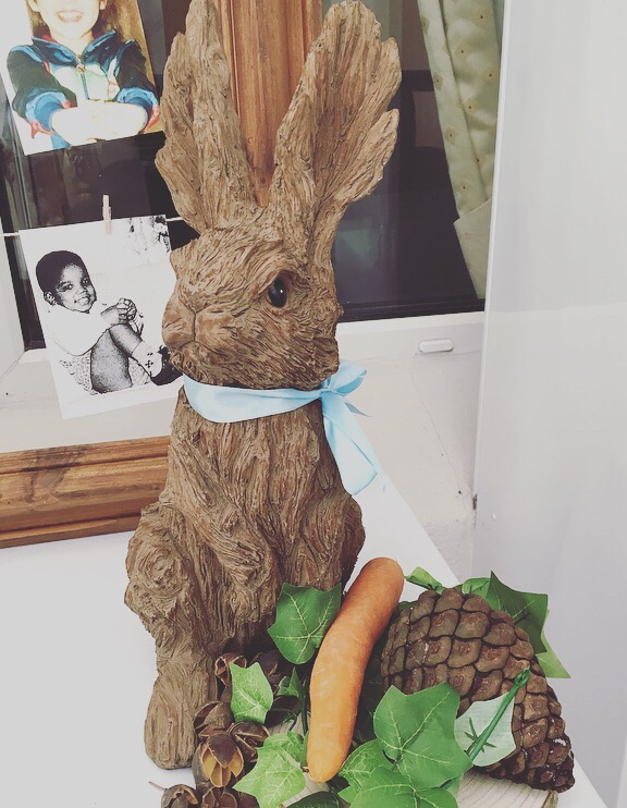 Peter Rabbit baby shower game - Celebrity babies game