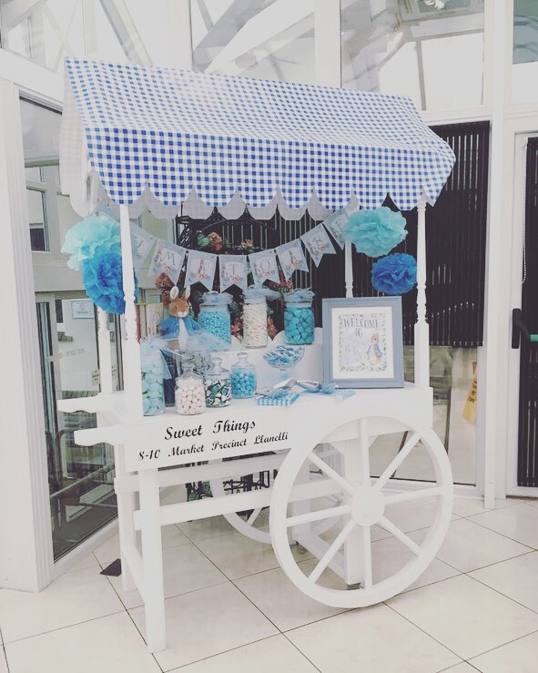Peter Rabbit sweet cart