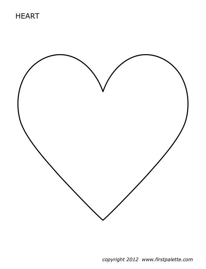 Heart stencil