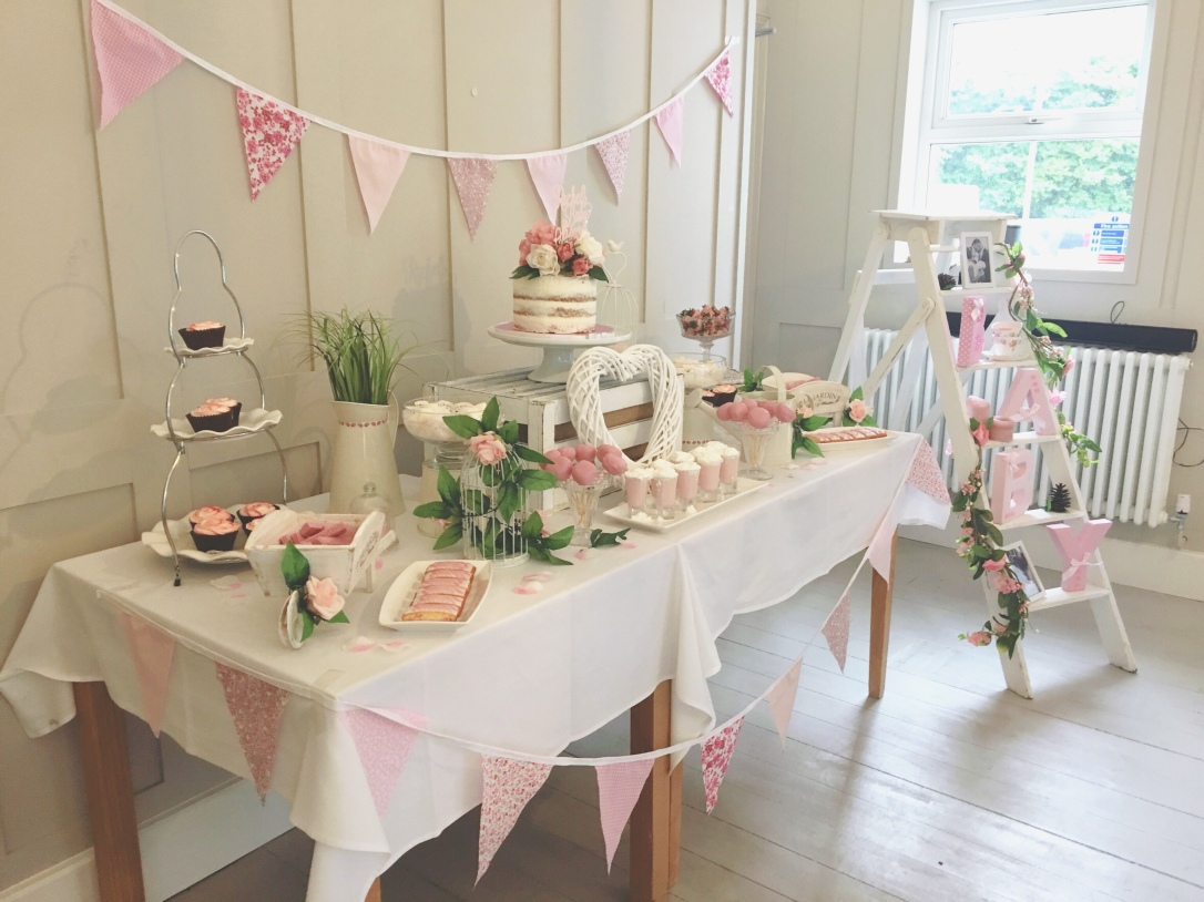 Pink Rustic Baby Shower