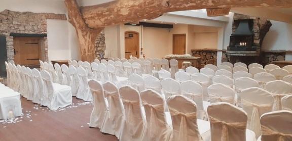 Wedding Ceremony Set Up