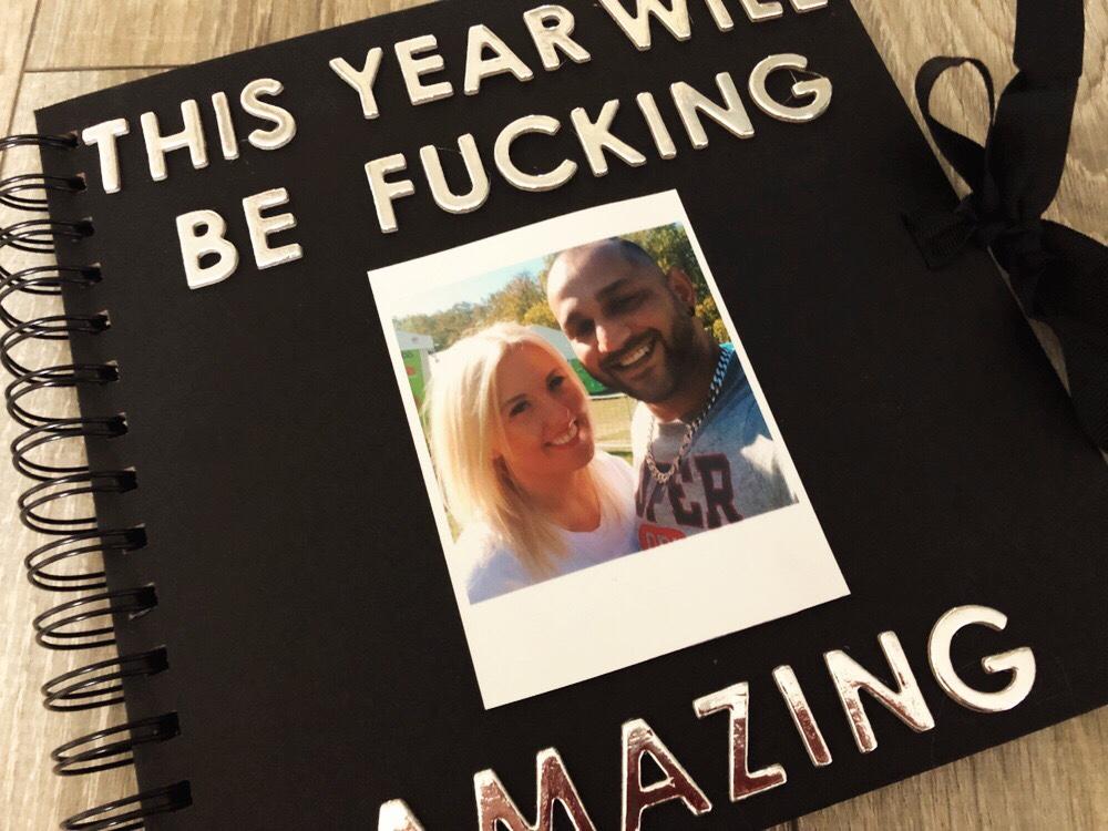 Year of Dates photo album gift