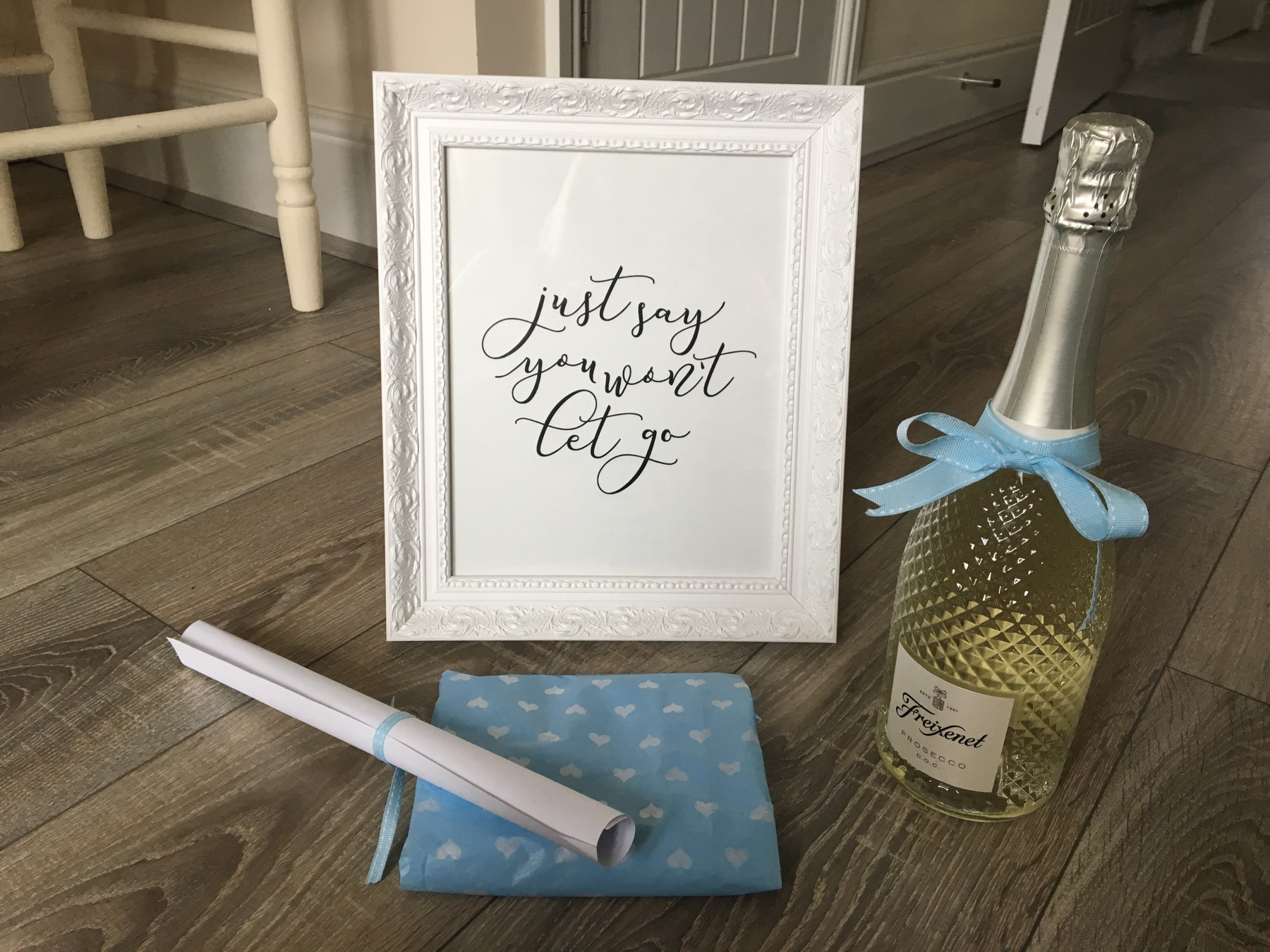 Bride to be gift hamper contents