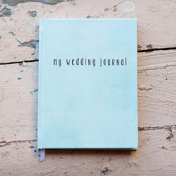Blue Wedding Journal