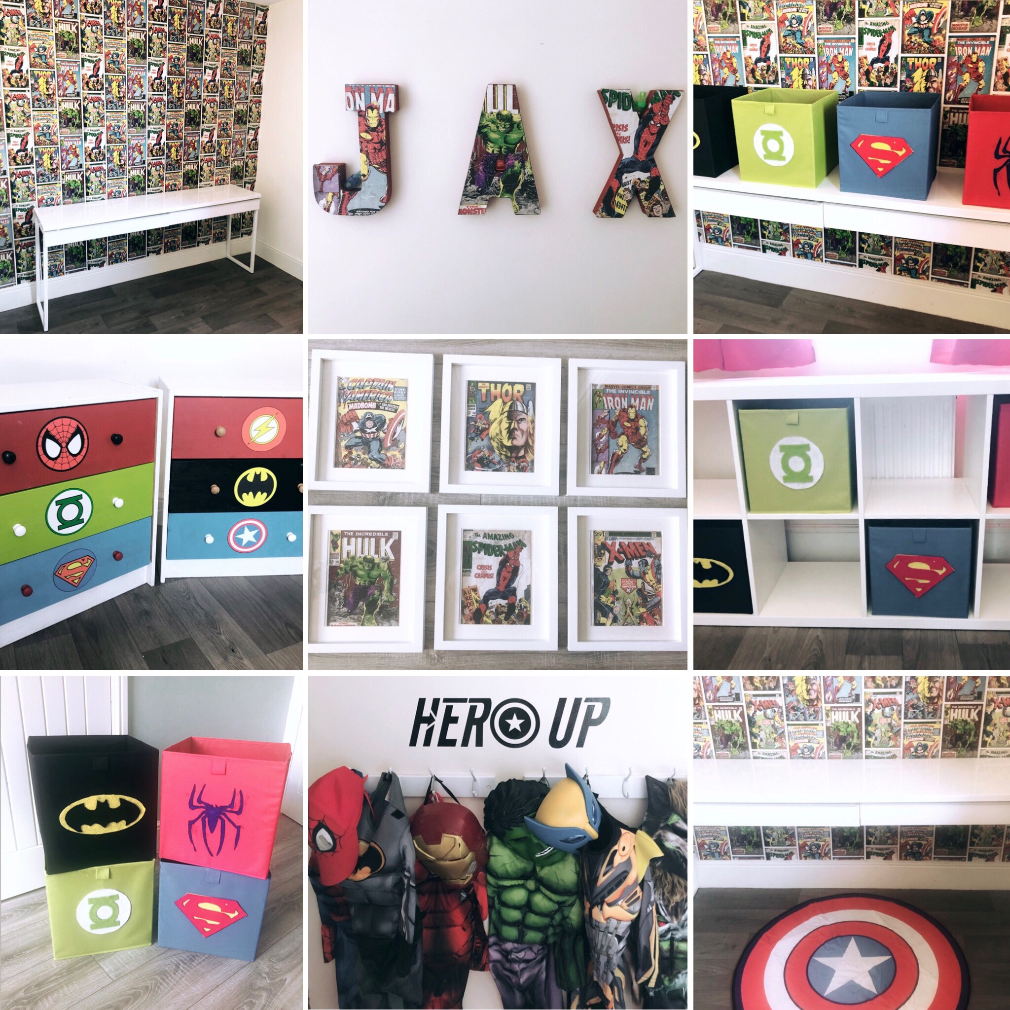 10 DIY Superhero Bedroom Decor Ideas – Teacups and Glitter