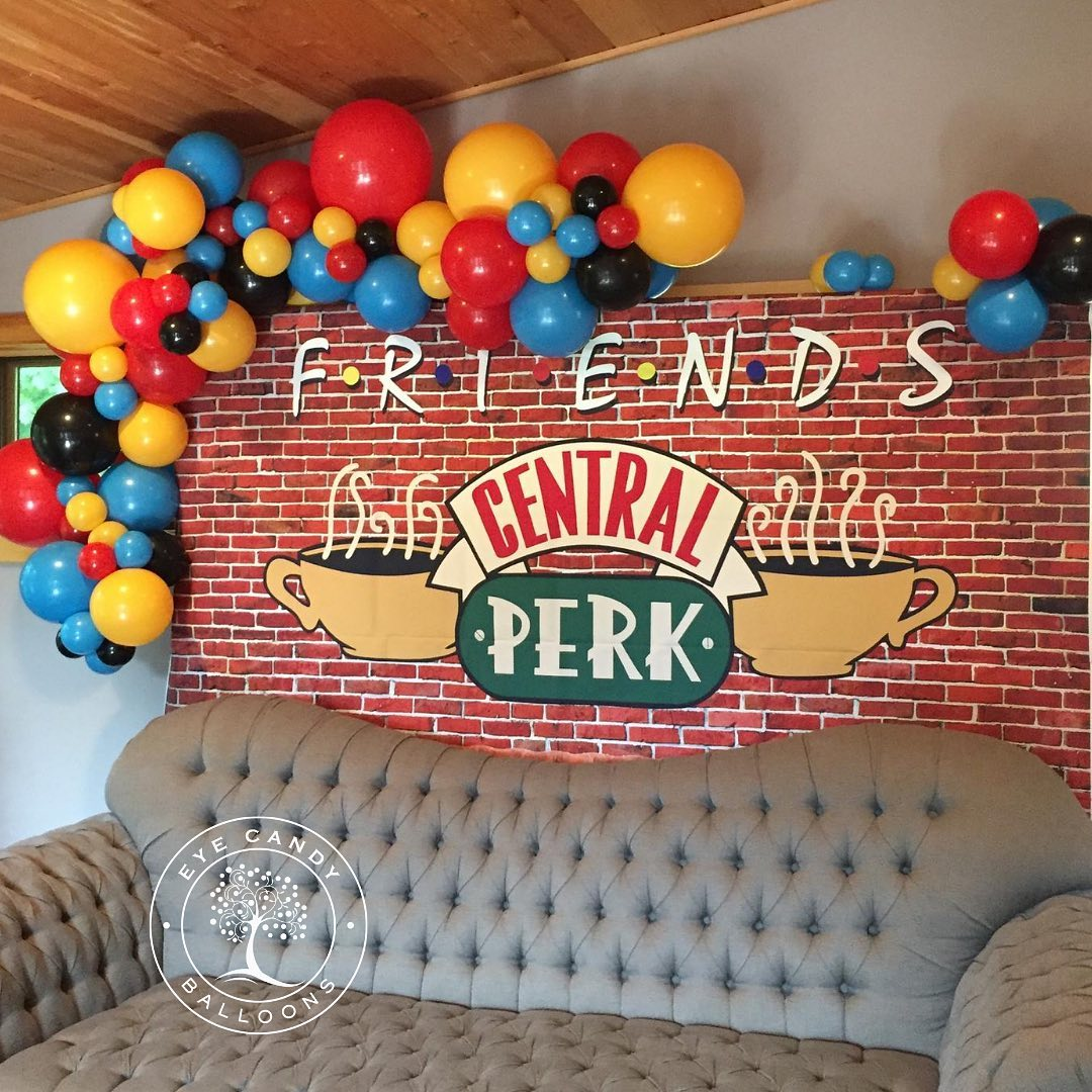 Friends photo booth backdrop