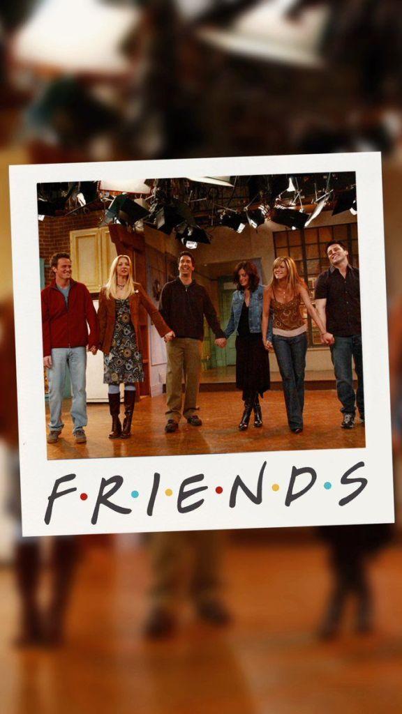 Friends finale scene