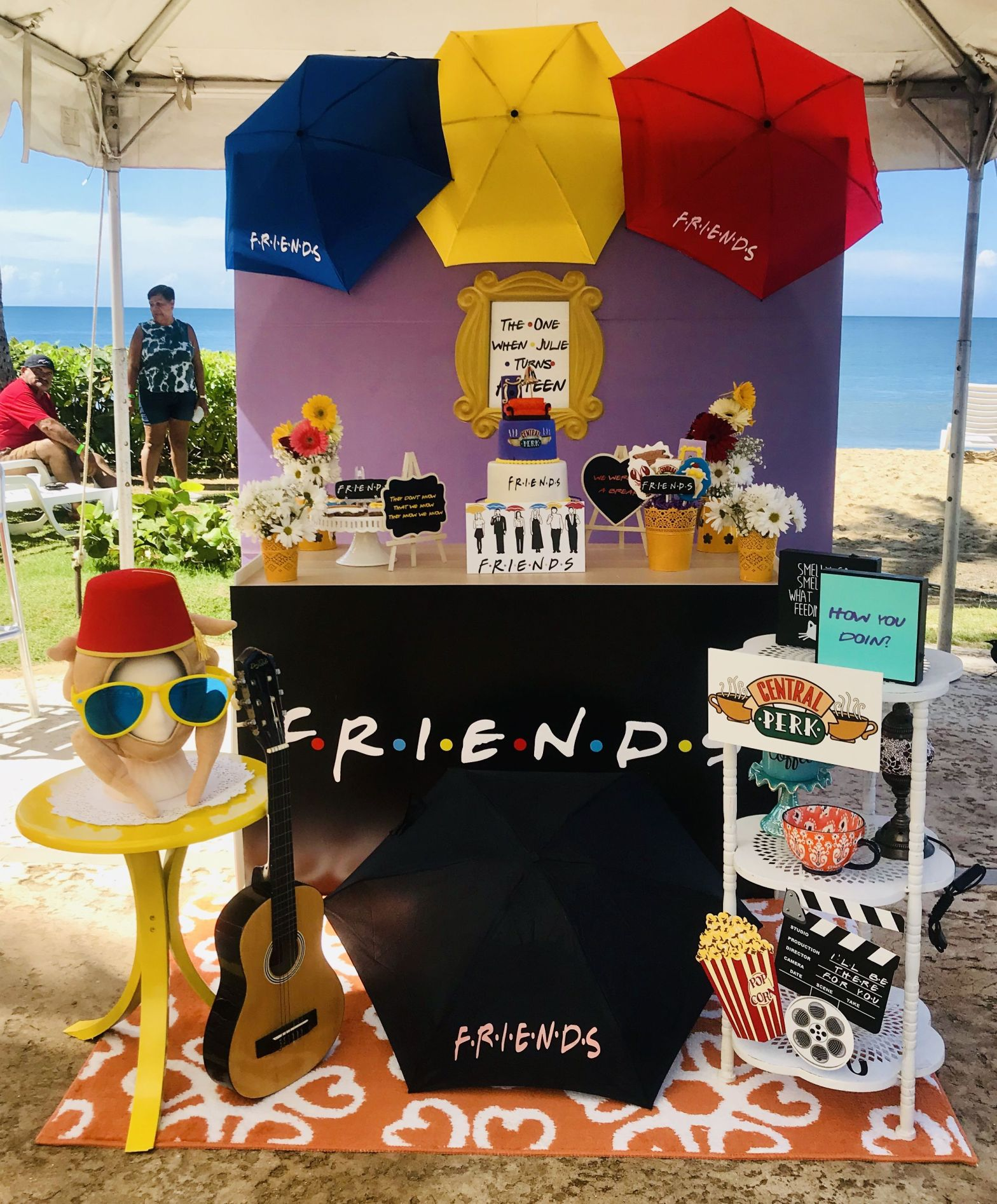 Friends themed dessert table