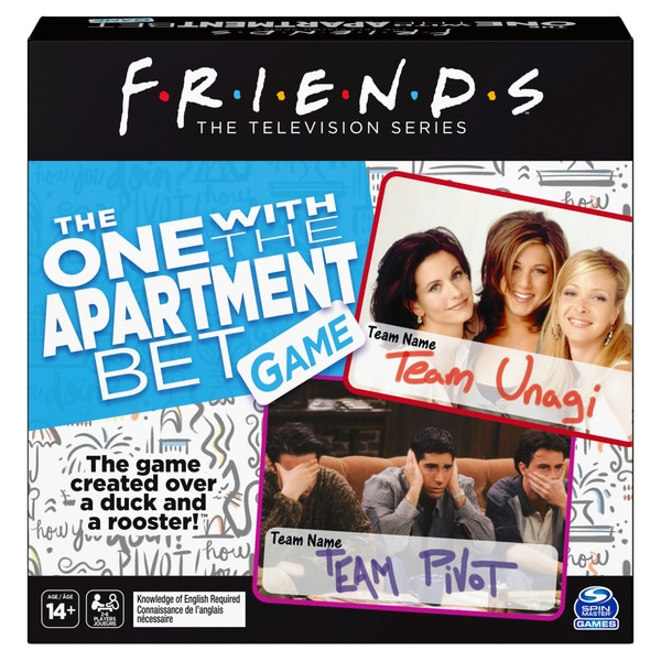Friends apartment bet game